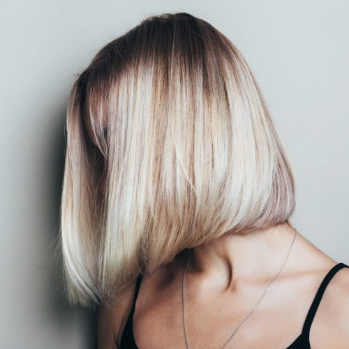 Blonde bob - Pinks Henfield Hair Salon