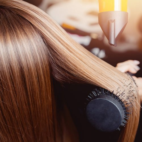 Blow Dried Hair - Pinks Hair & Beauty Hove